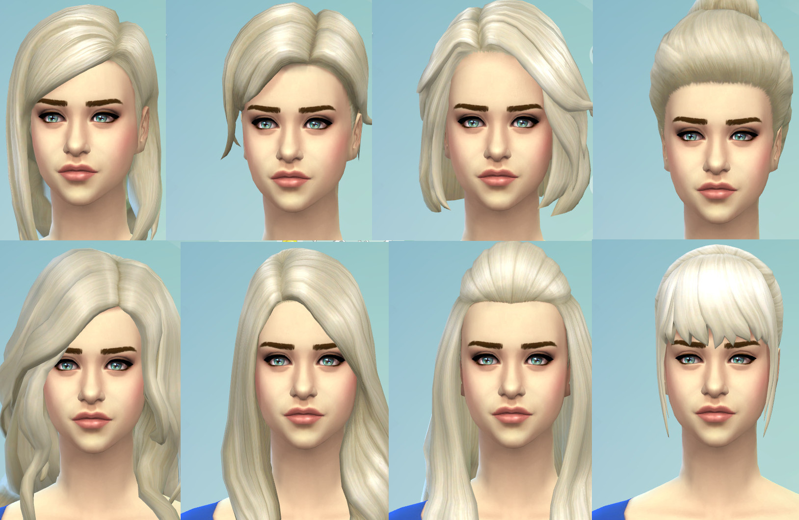 Targaryen Blonde hairs by kellyhb5