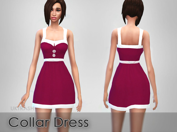 Collar Dress by UKTRASH