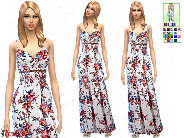 Spring Maxi Dress by RedCat
