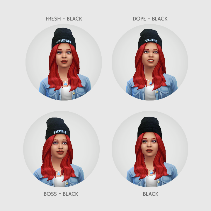 Baggy Beanies at LumiaLover Sims