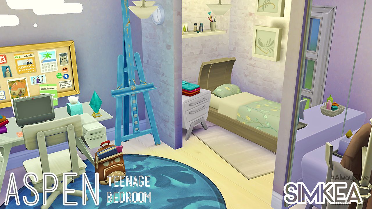 Aspen Teenage Bedroom by Simkea