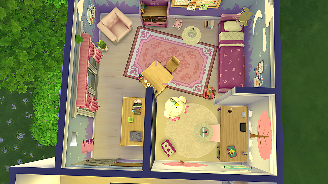 Aspen Girls Bedroom by Simkea