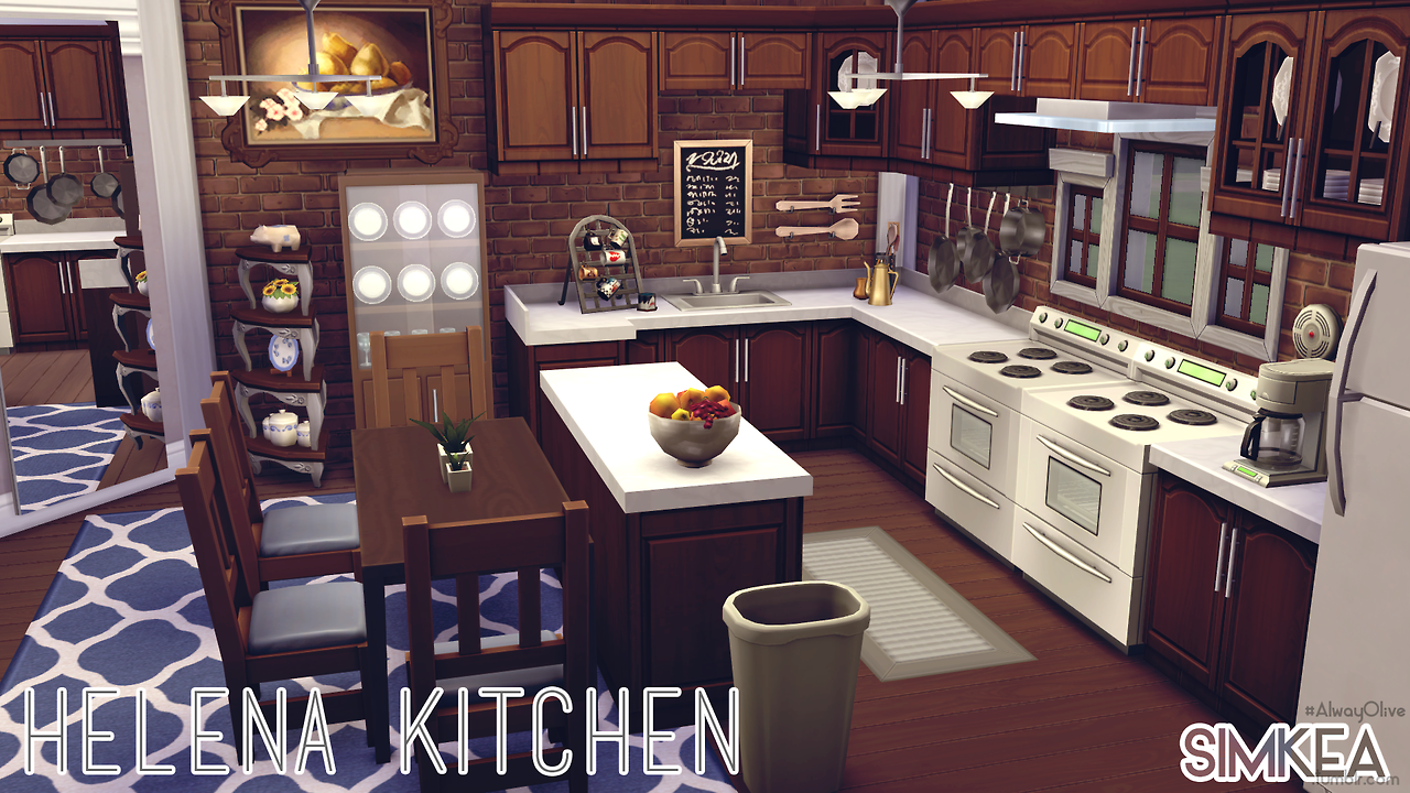 Helena Kitchen by Simkea