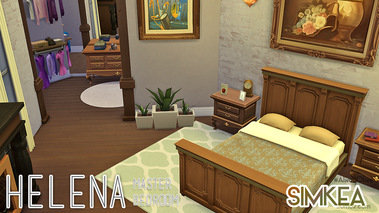 Helena Master Bedroom by Simkea