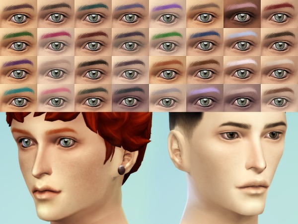 JSBoutique Male Eyebrows II