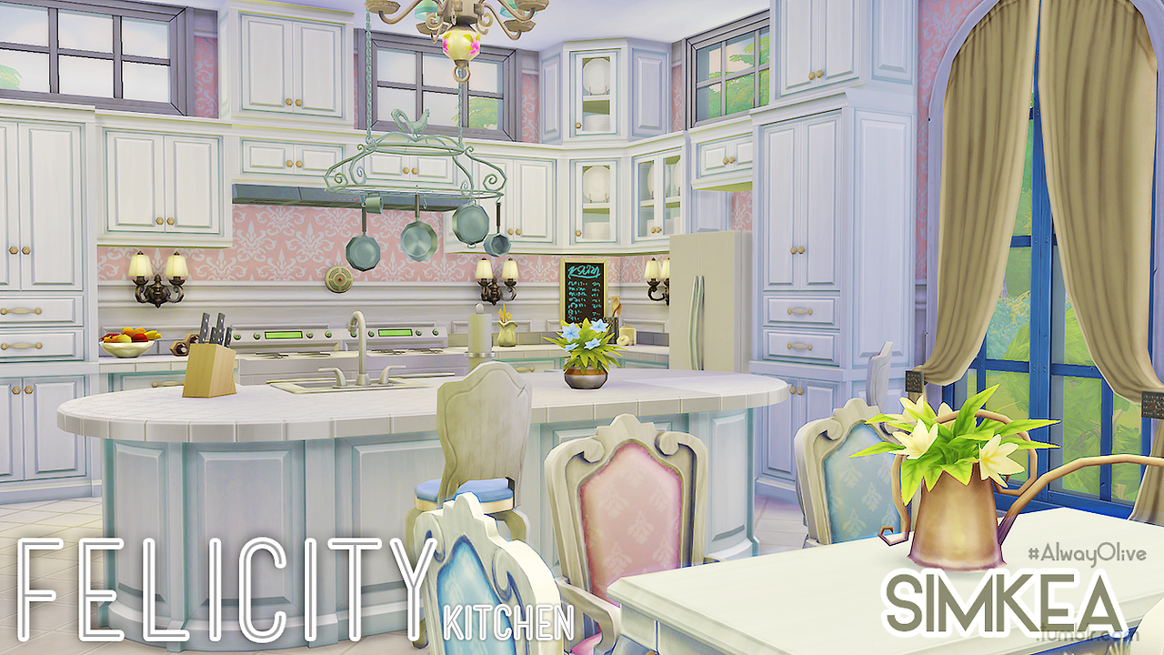 Felicity Kitchen by Simkea