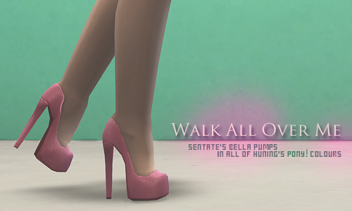 Sentate Bella Pumps Recolors by Plumbobbles