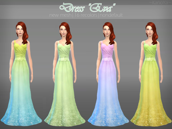 Maxi Party Dress Eva by KanoYa