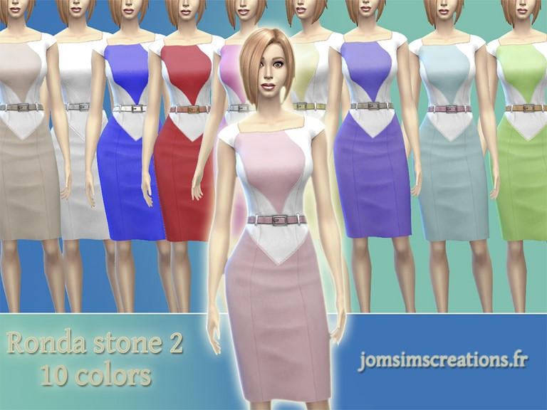 Ronda Stone Dresses 2 by JomSims