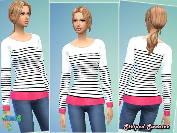 Striped Sweater by ESsiN