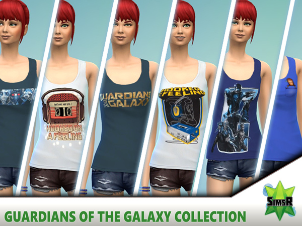 Guardians of the Galaxy collection by simsr