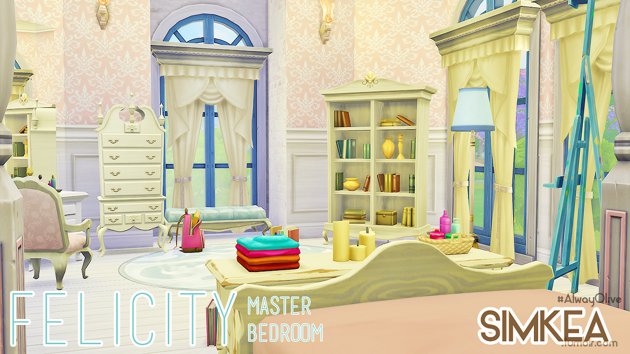 Felicity Master Bedroom by Simkea