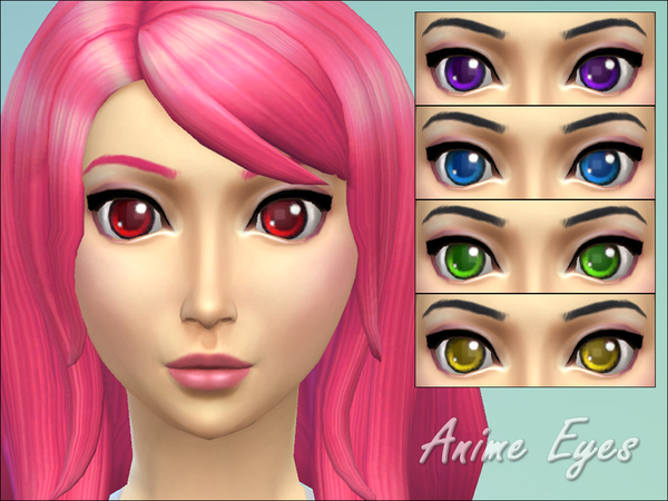 Anime Eyes by _Miep_