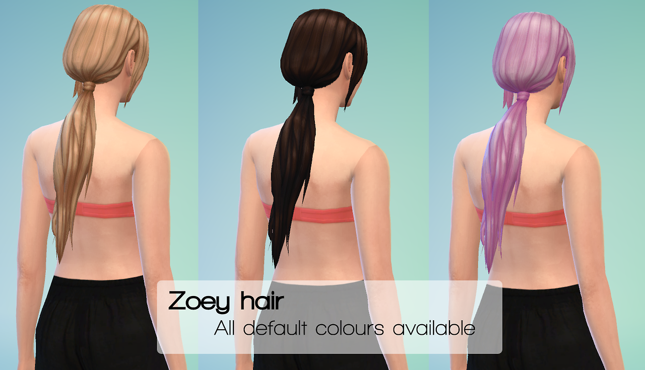 ZOEY HAIR at Sevenhills Sims