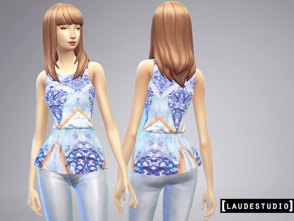 SET - 3 Blouse Peplum by LaudeStudio
