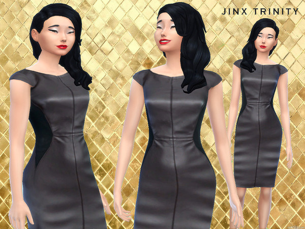 Make a statement leatherdress by JinxTrinity