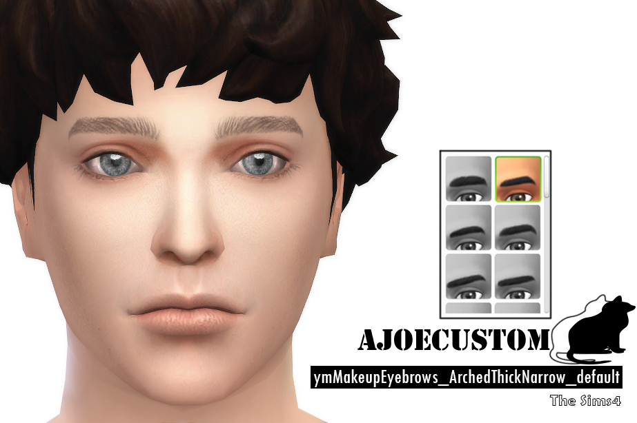 Eyebrows for Males by AJoeCustom