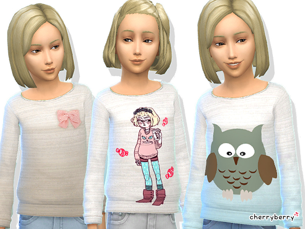 Cute sweaters for girls by CherryBerrySim