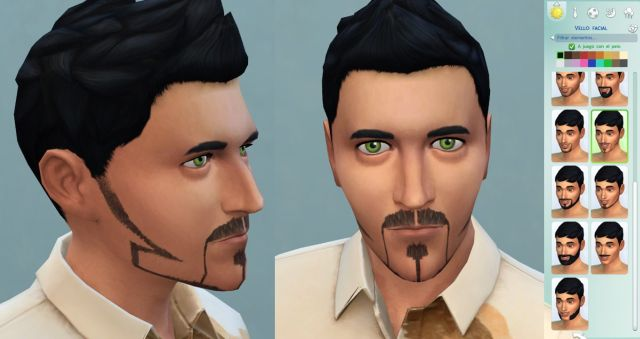 TS2 Nail beard turned for TS4 by necrodog