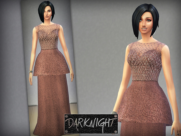 Embellished Tulle Dress by DarkNighTt