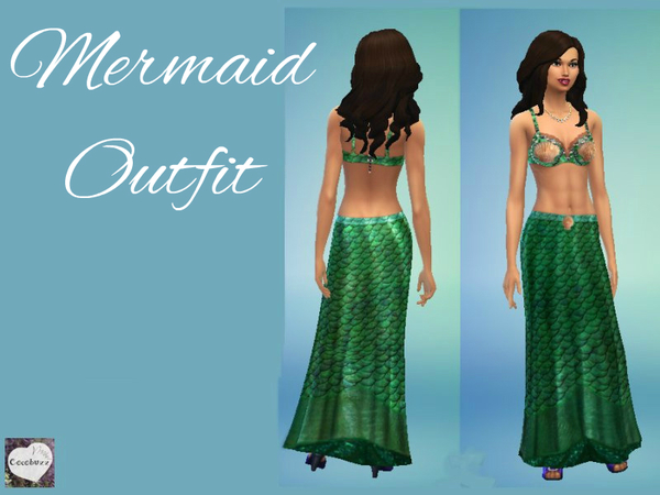 Green Mermaid Outfit by Cocobuzz