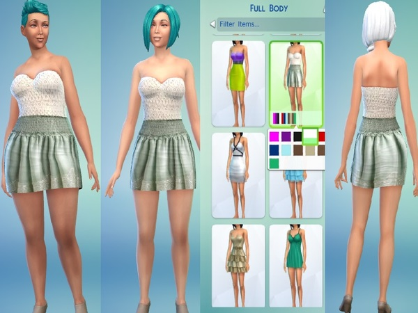 Classy Cute Summer Dress non-default by CuppySyrup