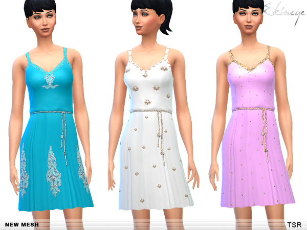 Embellished Dresses - Set2 by ekinege