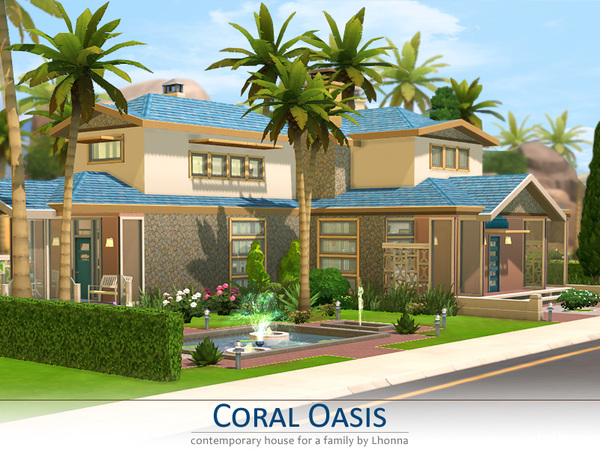 Coral Oasis by Lhonna