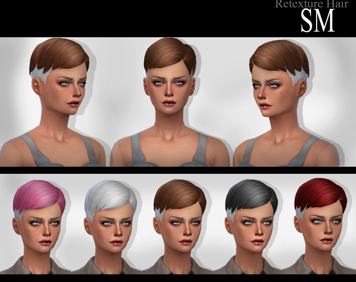 Hair Retextures by Simaniacos