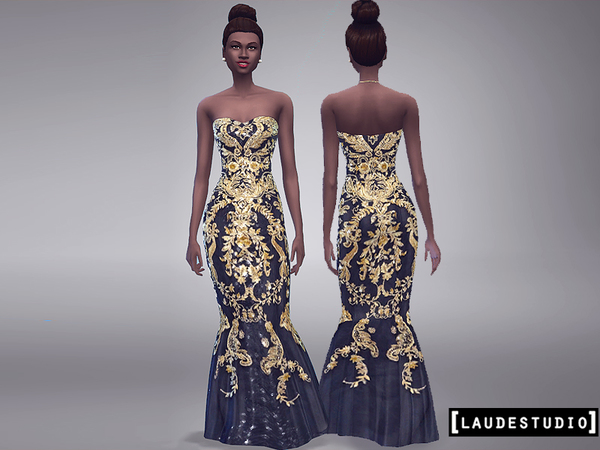 Long Dress Barroco by LaudeStudio