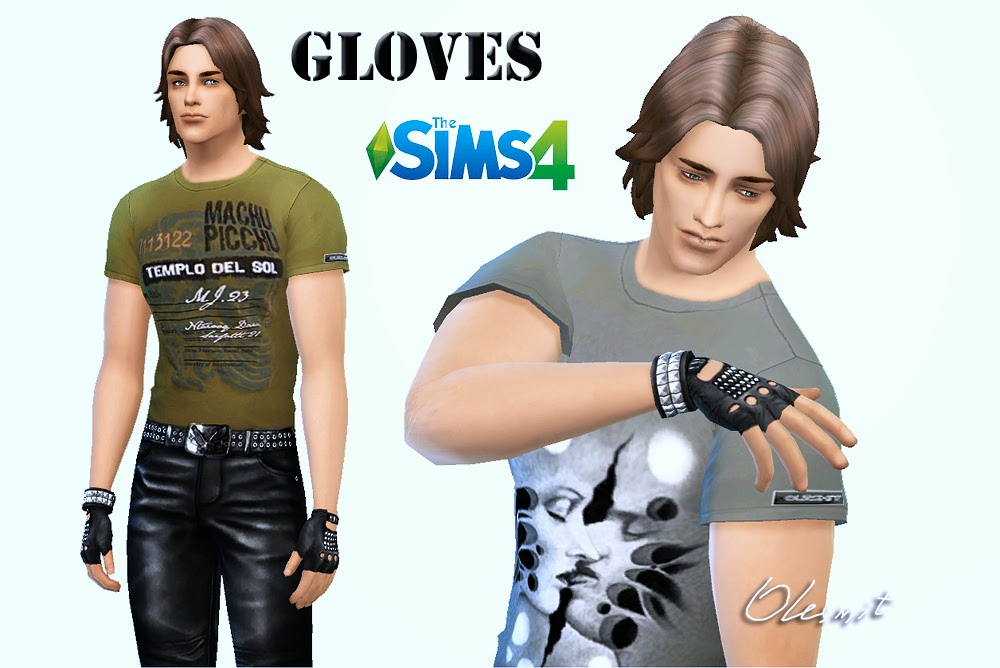 Gloves for Males Females by Olesmit