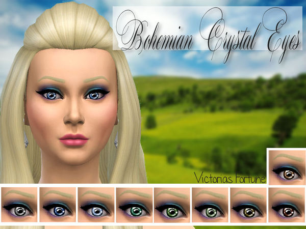 Bohemian Crystal Eyes by fortunecookie1