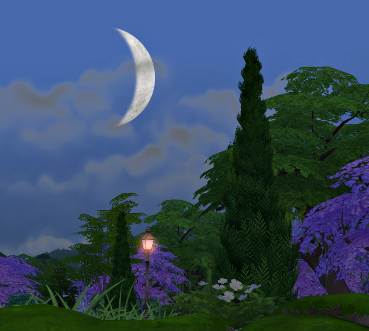 Crescent Moon for The Sims 4 by Simsl3gacies