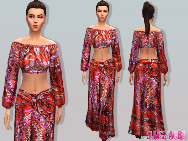 03 - Bohemian set by sims2fanbg