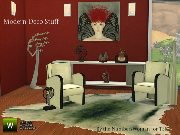Modern Deco Stuff by TheNumbersWoman