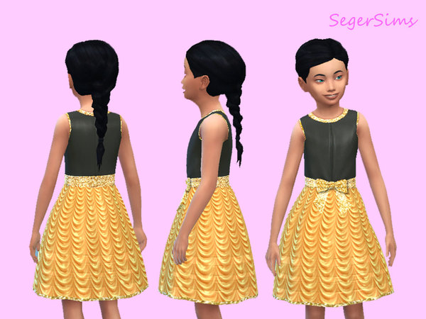 Pretty Party Dress by SegerSims