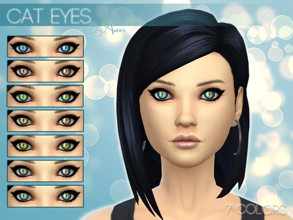 Cat Eyes (Non-Default) - 7 Colors by Aveira