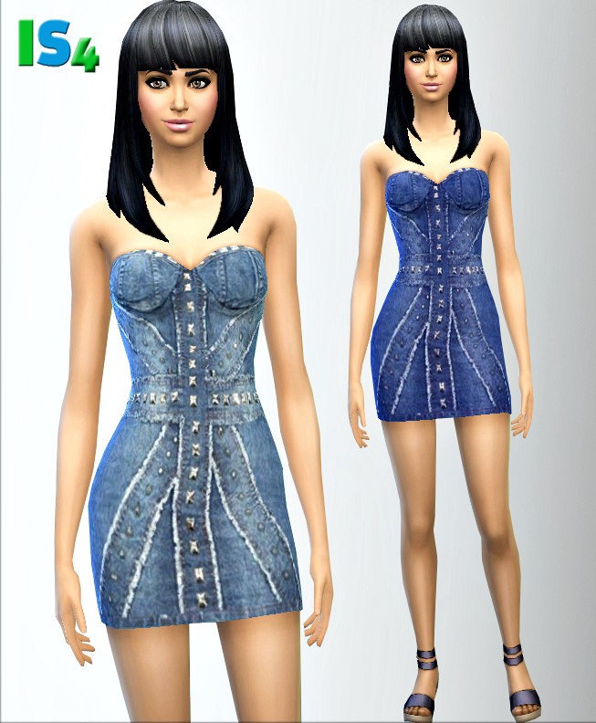 Denim dress by irida