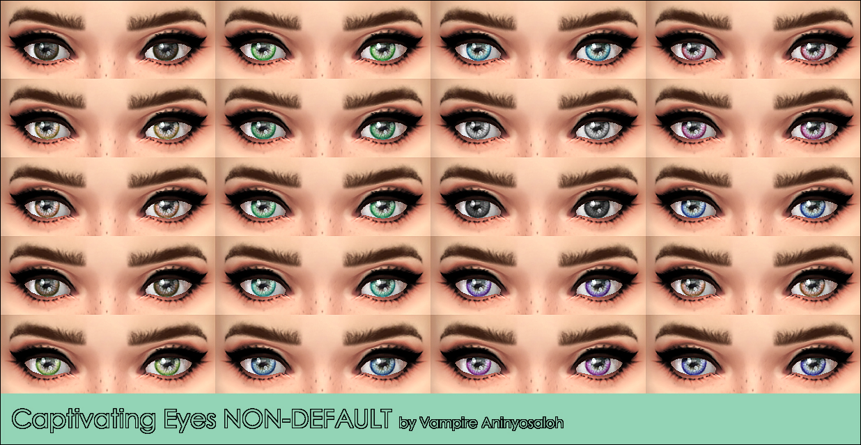 Captivating 20 eyes NON-DEFAULT by Vampire aninyosaloh