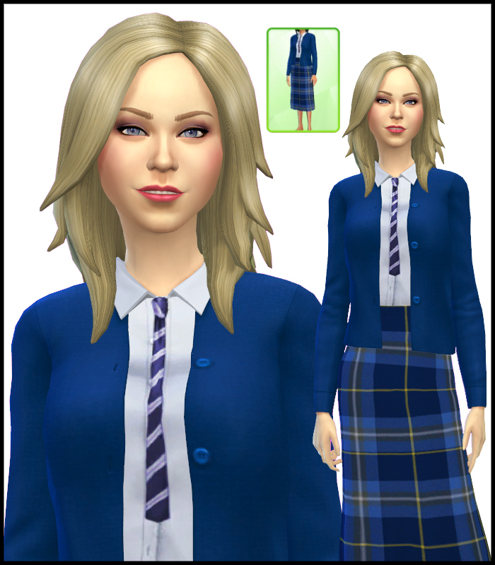 School Uniform for Teen - Elder Females by Mr S