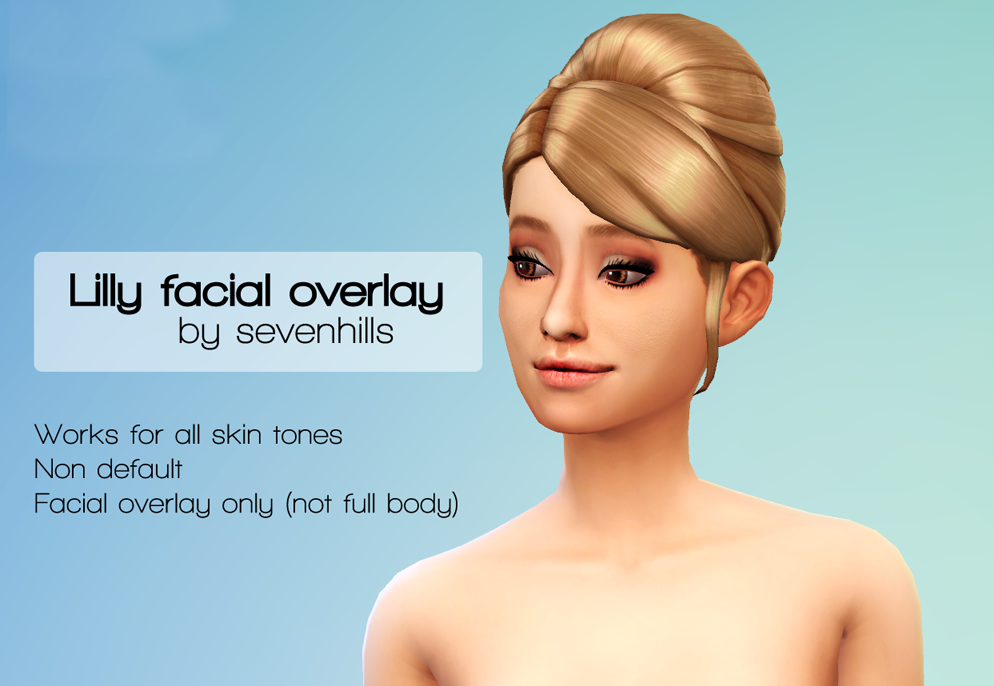 Lilly Face Overlay by SevenhillsSims