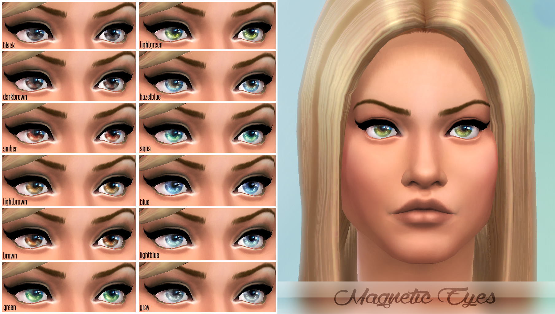 Magnetic Eyes - Default / Custom by -Shady-