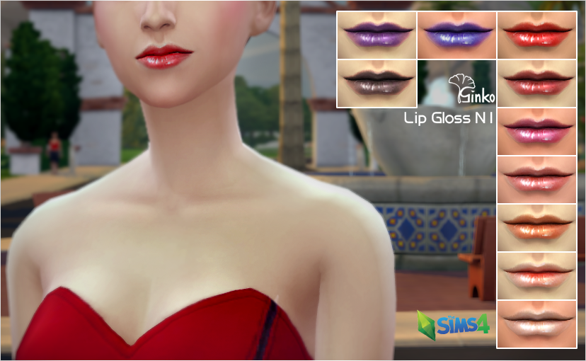 Lip Gloss N1 by ginko