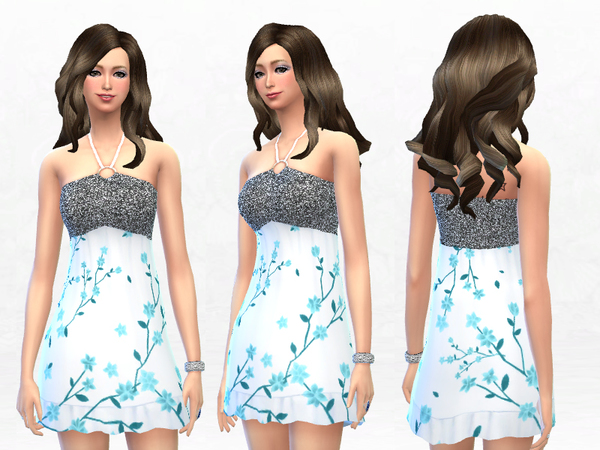 Dress Sun Halter Empire - Set by SakuraPhan