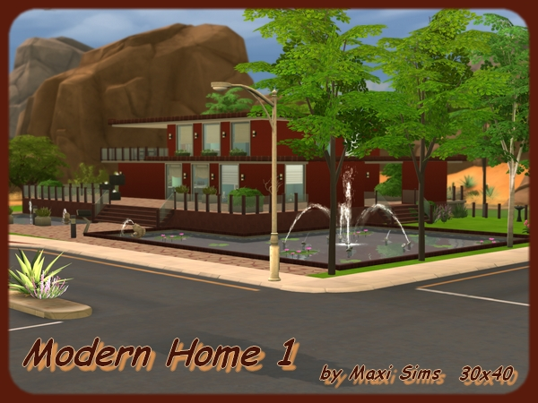 Modern Home 1 by Maxi