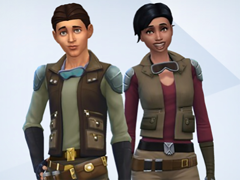 Smuggler Outfit for Teen - Elder Males & Females by Snaitf