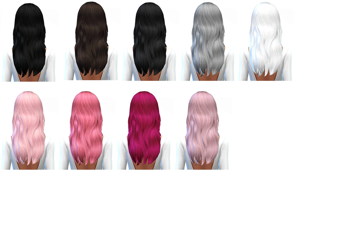 Default Hair Retextures by Missparaply