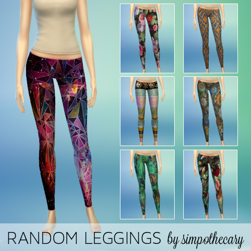 Random Leggings by Simpothecary