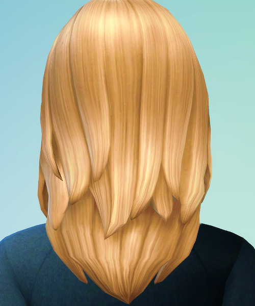 Hair 1 for Females in All EA Default Colors by JSBoutique