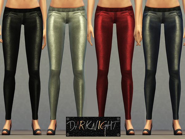 Stretch Leather Leggings by DarkNighTt